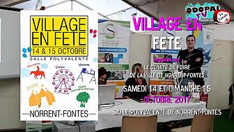 ITW de Benoit POTTERIE, Député de la 8ème Circonscription du Pas-de-Calais,  à l'occasion de l'édition 2017 de VILLAGE EN FETE,