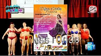 Election Miss Ronde Nord-Pas-De-Calais 2016 à Oye-Plage - le 23 Avril 2016
