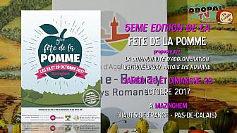 ITW Mauricette SAMMIEZ et Emmanuel HACHIN - 5ème Fête de la Pomme - Mazinghem - 28/10/2017
