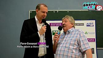 Pierre-Emmanuel GIBSON 1er adjoint au Maire de Béthune à la 3ème Journée Futsal Division 1 - Béthune-Montpellier