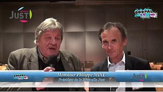 Interview de Philippe MIXE, Président de la mutuelle JUST