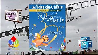 30èmes Rencontres Internationales de Cerfs-Volants avec Xavier BERTRAND, Président de la Région Hauts-de-France Nord - Pas-de-Calais - Picardie
