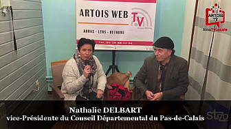 'Rendez-vous Economiques Smartrezo': Nathalie Delbart Vice-Présidente du Pas-de-Calais présente à l'inauguration de la Cociergerie du Beffroi à Béthunes @pasdecalais62 #Bethune