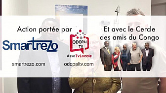 Le Réseau Social Français Smartrezo Lance l'Action 'Les Opticiens du Coeur' avec le Cercle des Amis du Congo à partir du magasin EcouterVoir de Lens @Smartrezo @assoTvLocale